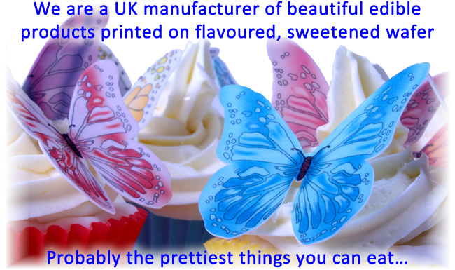 cda - a uk manufacturer of edible decorations   specialists in