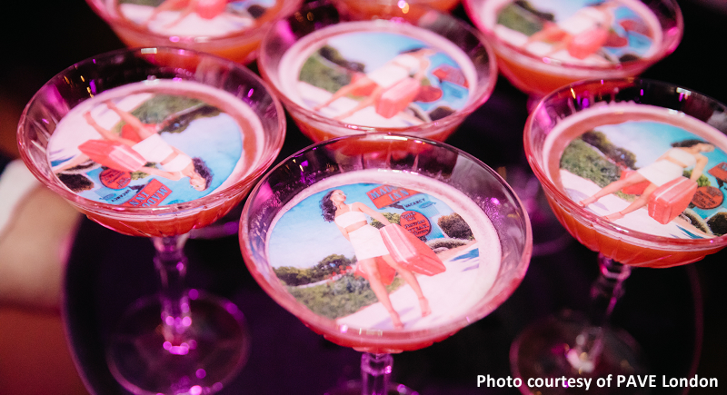 Floating Cocktail Images